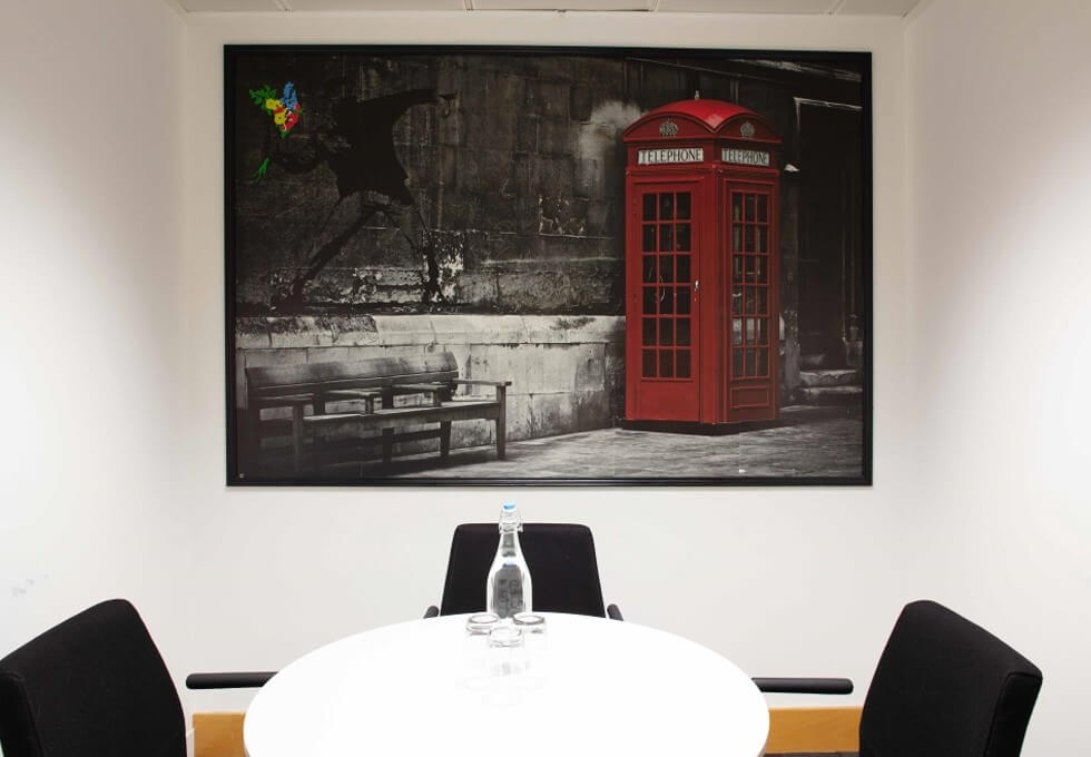 Euston Road NW1 office space – Meeting/Boardroom