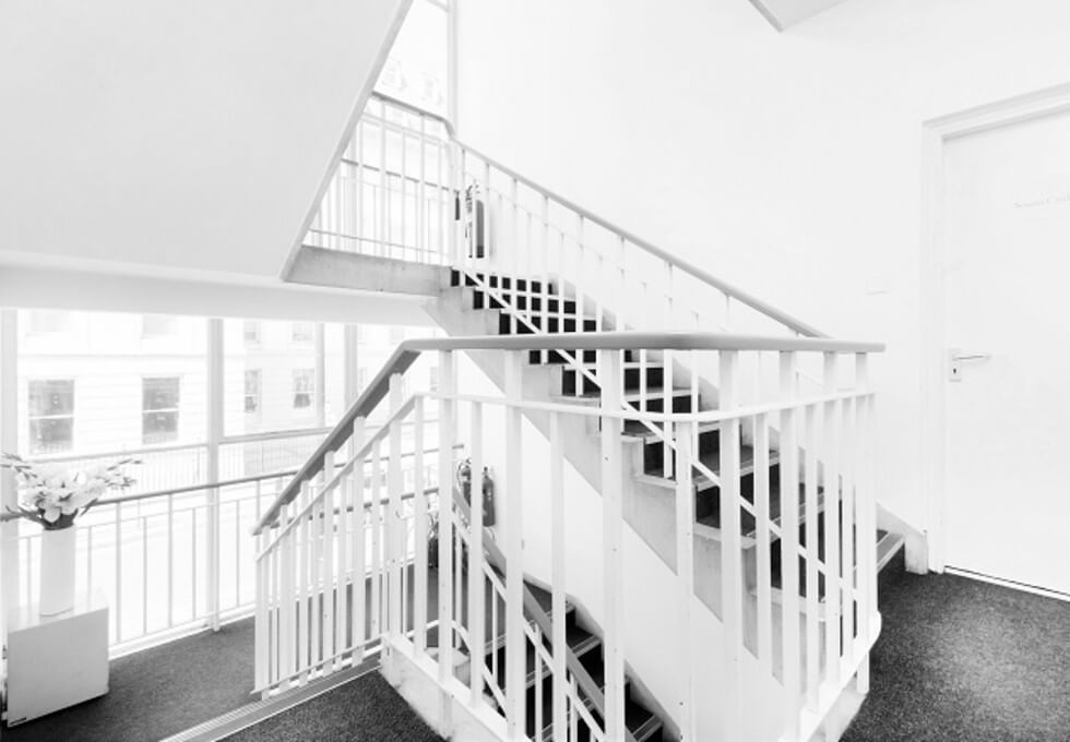Praed Street W2 office space – Hallway