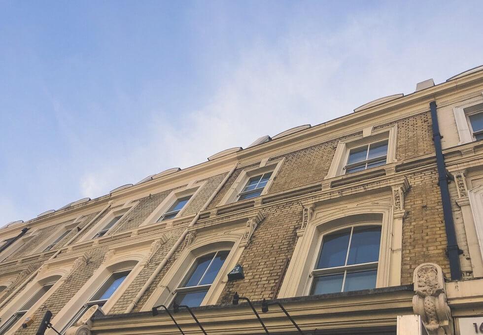 Praed Street W2 office space – Building External
