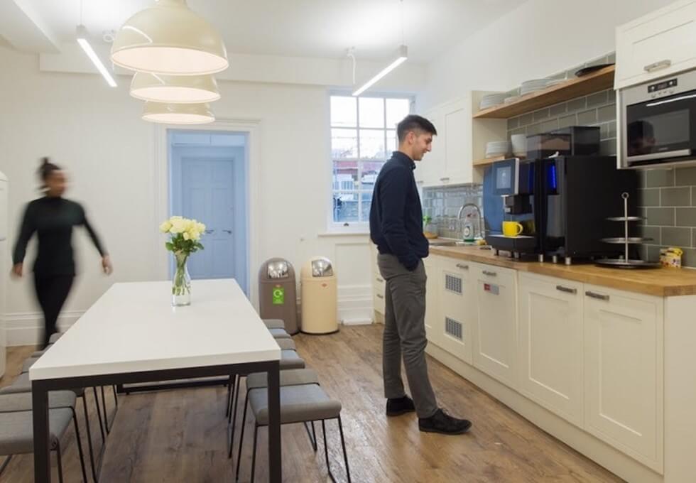 Henrietta Street WC2 office space – Kitchen