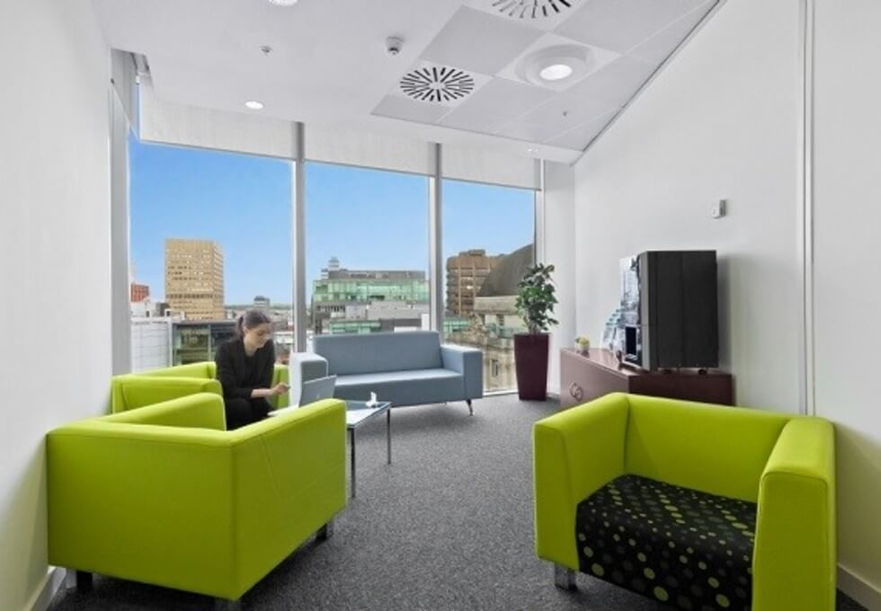 Brown Street M1 office space – Break Out Area