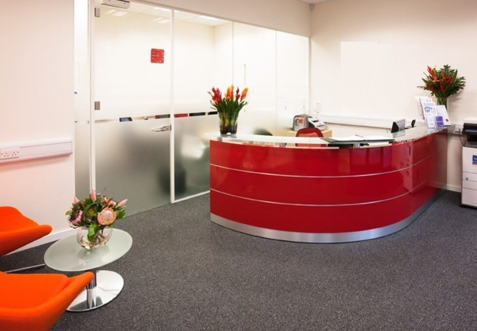 Honeypot Lane HA7 office space – Reception