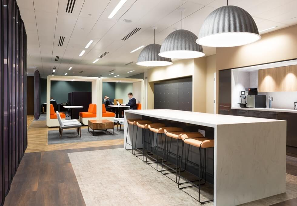 Hardman Square M1 office space – Break Out Area
