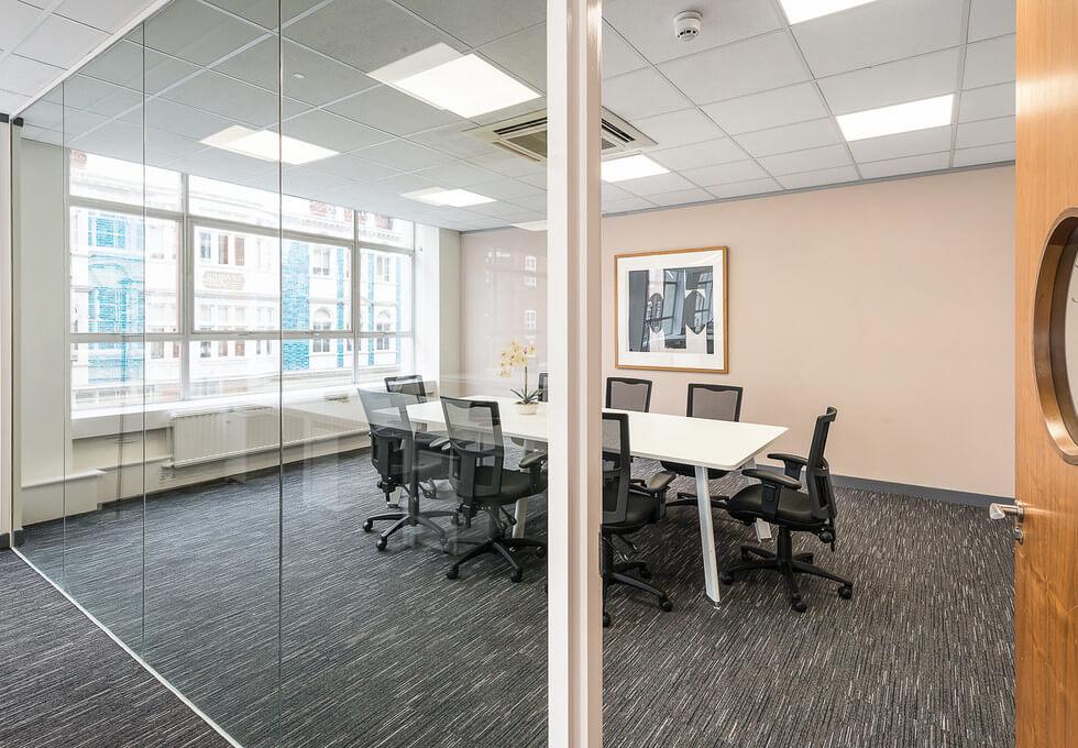 Mortimer Street W1 office space – Meeting/Boardroom
