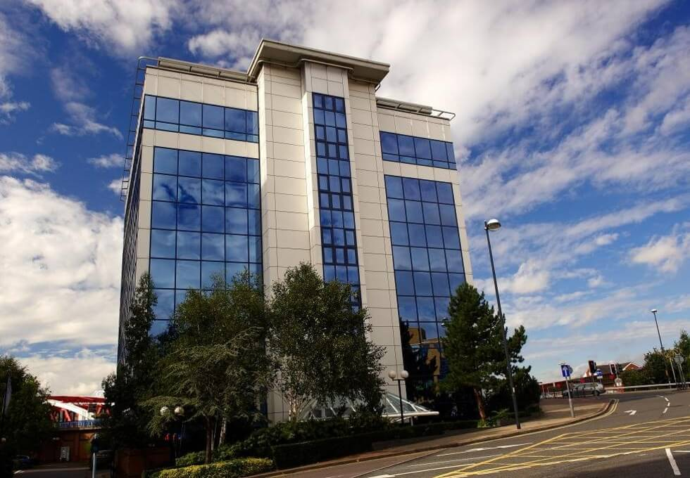 Exchange Quay M1 office space – Building External