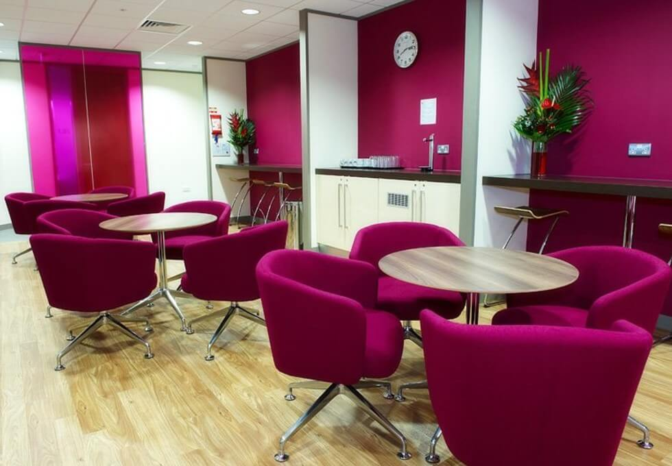 Exchange Quay M1 office space – Break Out Area