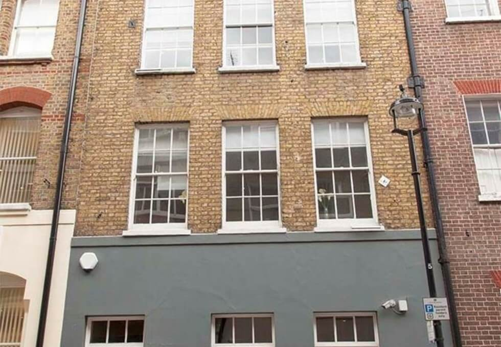 Carlisle Street W1 office space – Building External
