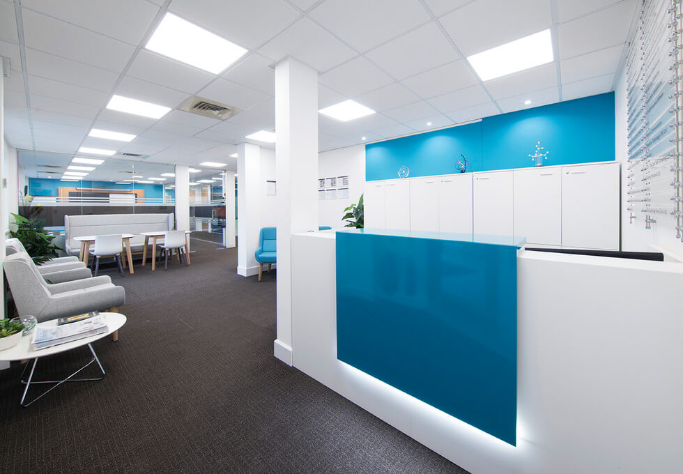 Chivers Way CB24 office space – Reception