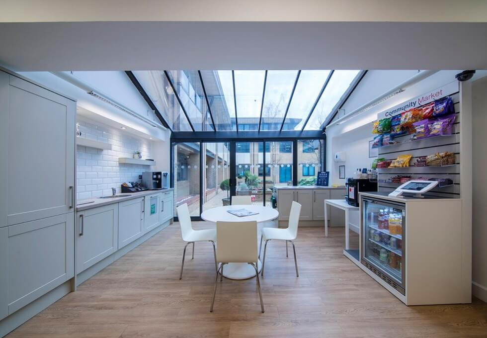 Chivers Way CB24 office space – Kitchen
