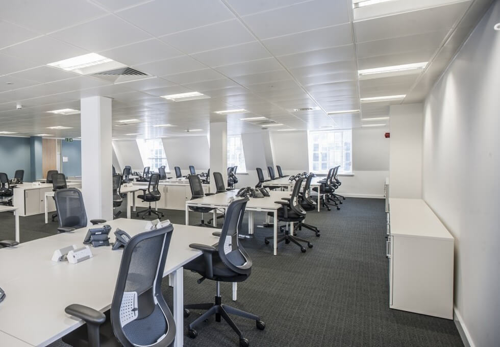 Upper Woburn Place NW1 office space – Private Office (different sizes available)