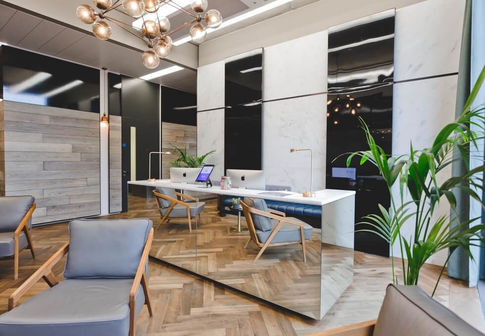 Pancras Square WC1 office space – Reception