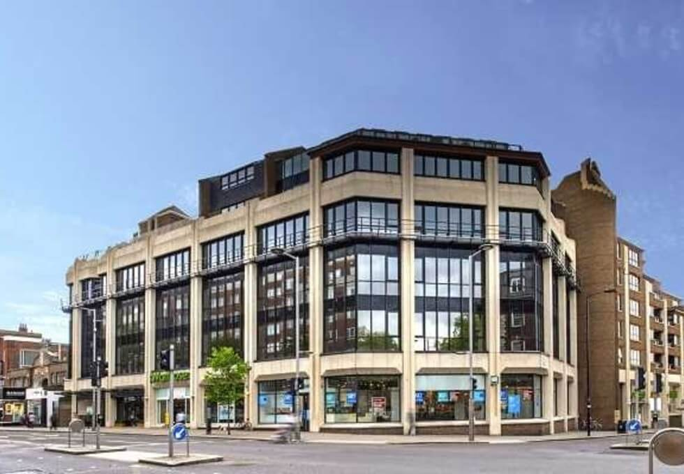 Kensington High Street W8 office space – Building External