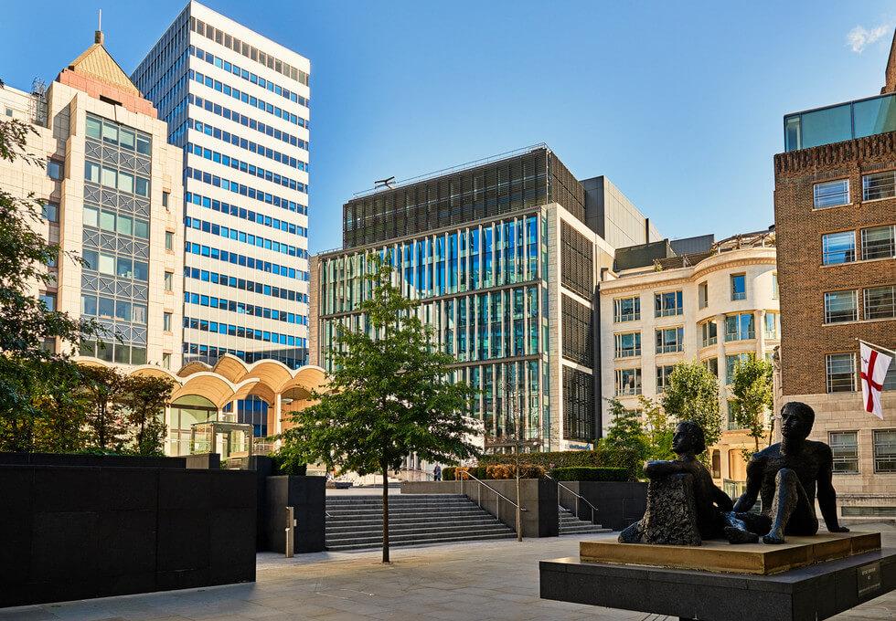 Basinghall Street EC2 office space – Building External
