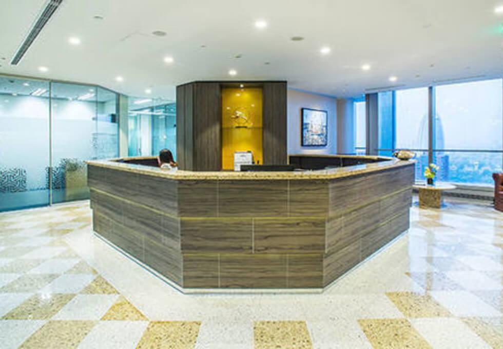 Leadenhall Street EC4 office space – Reception