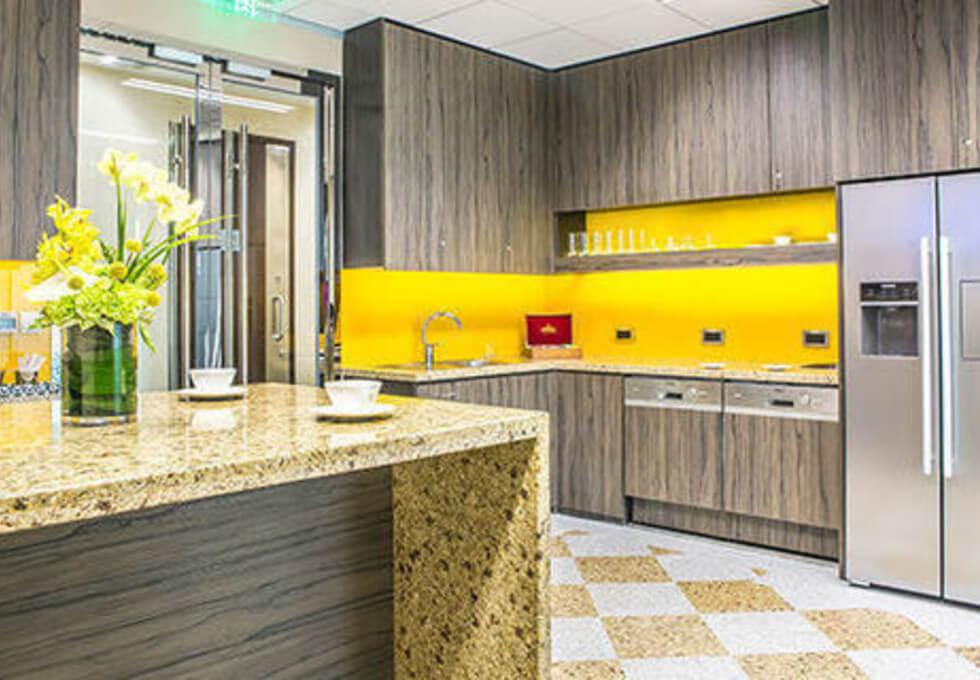 Leadenhall Street EC4 office space – Kitchen