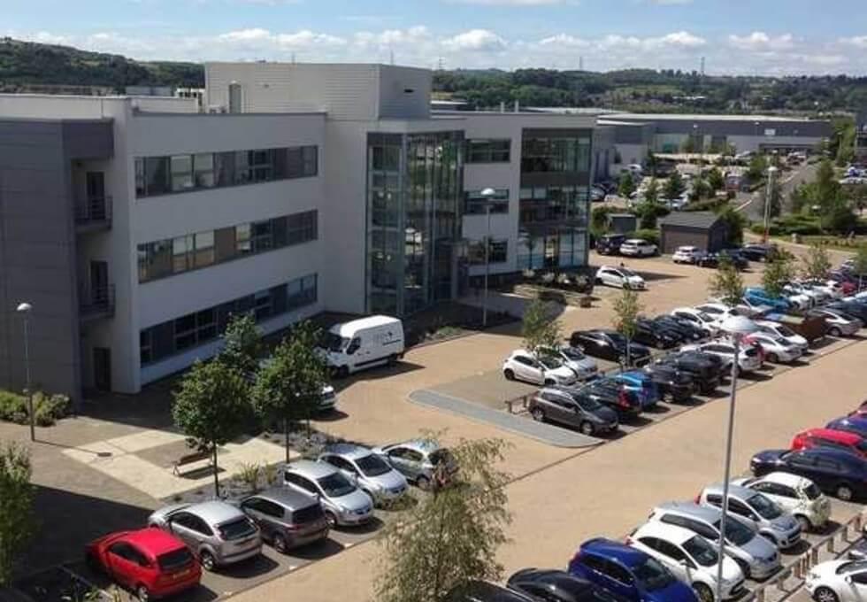Gateway West NE1 office space – Building External