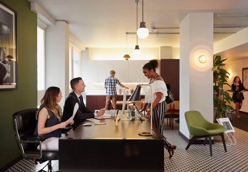 Langham Place W1 office space – Reception