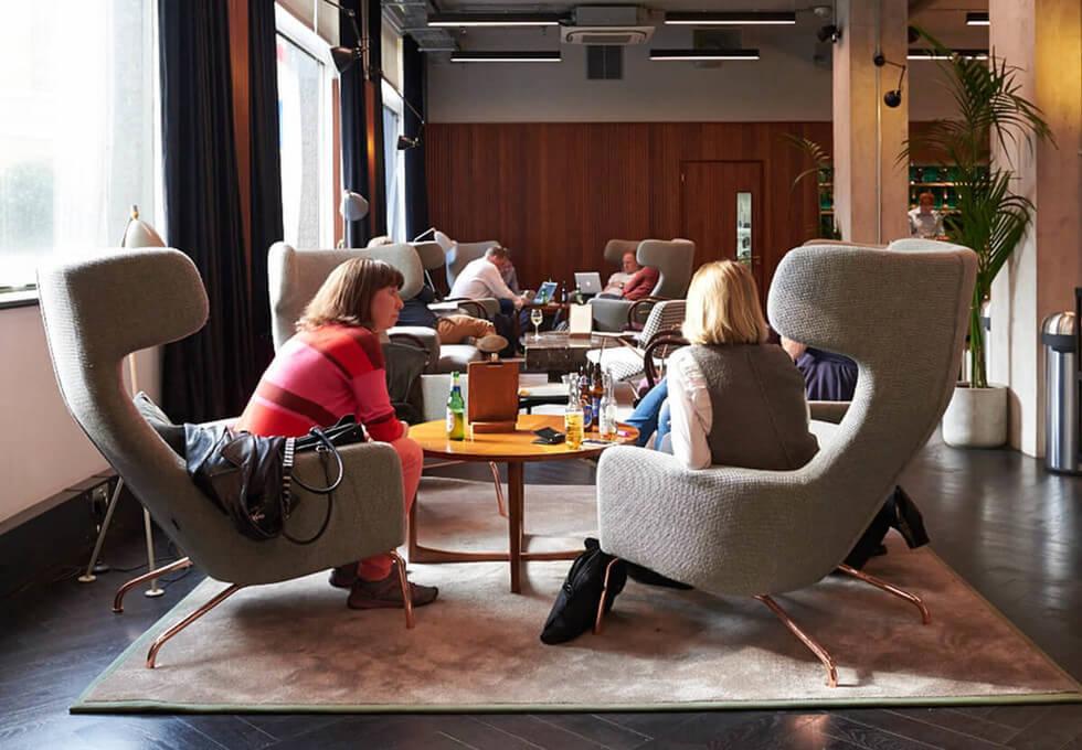 Langham Place W1 office space – Break Out Area