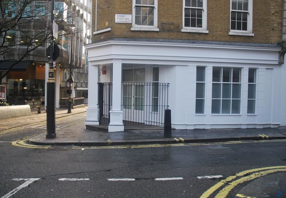 Orange Street WC1 office space – Building External