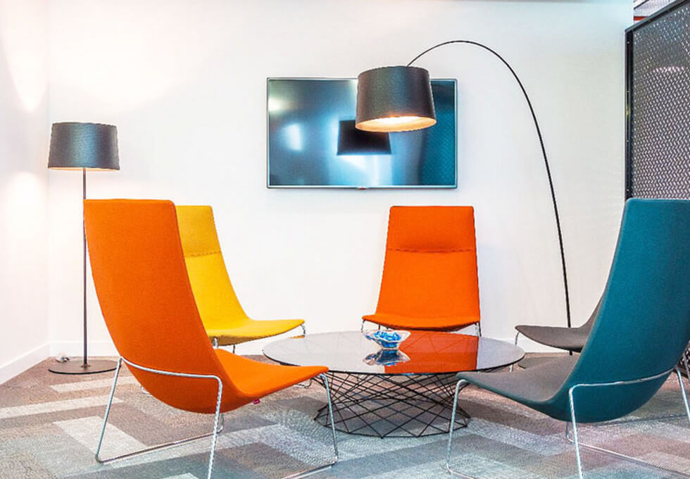Merchant Square W2 office space – Break Out Area