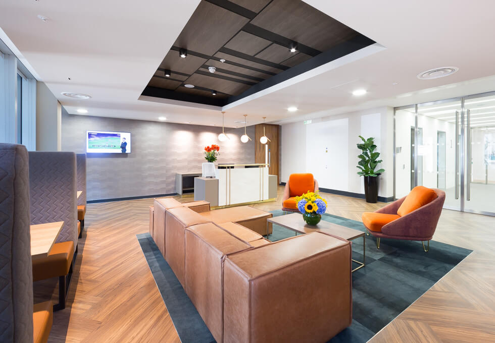 Bevis Marks E1 office space – Reception