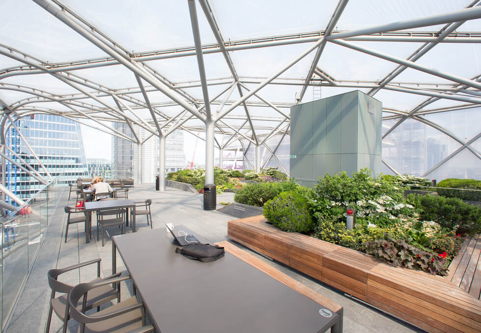 Bevis Marks E1 office space – Outdoor Area