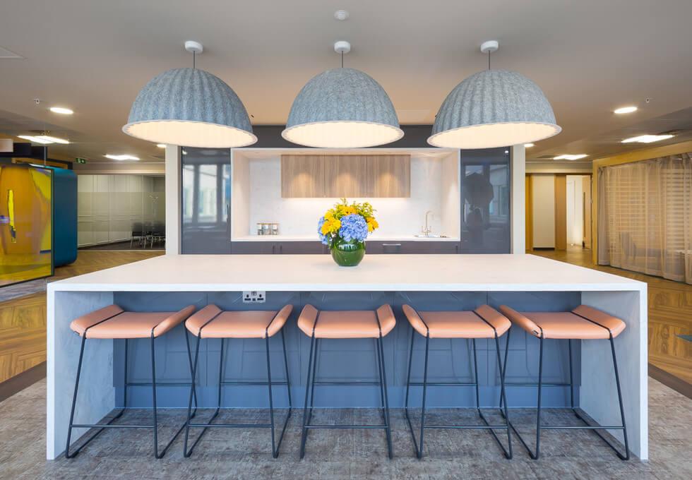 Botolph Street E1 office space – Kitchen