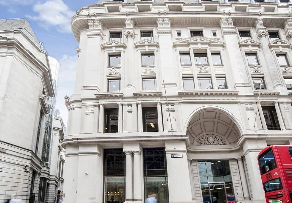 King William Street EC4 office space – Building External