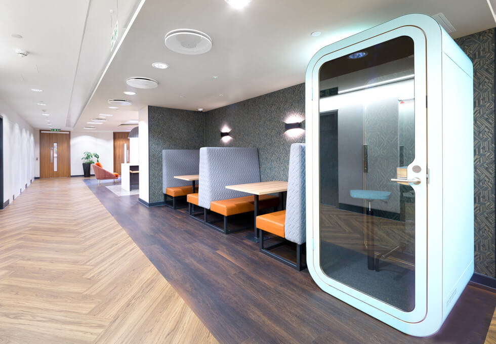 King William Street EC4 office space – Break Out Area