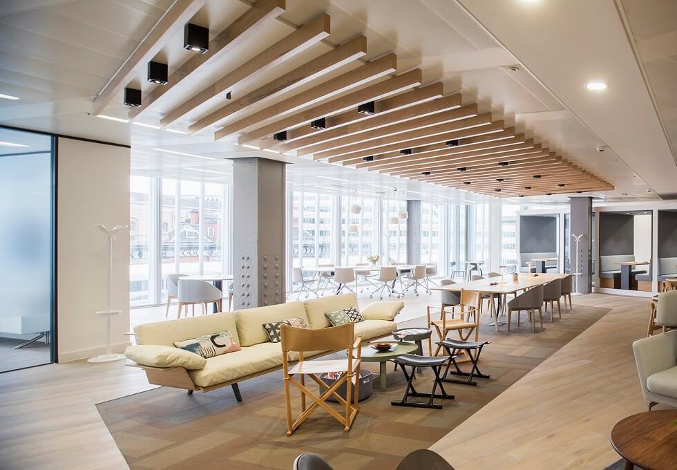 London Bridge Street SE1 office space – Break Out Area