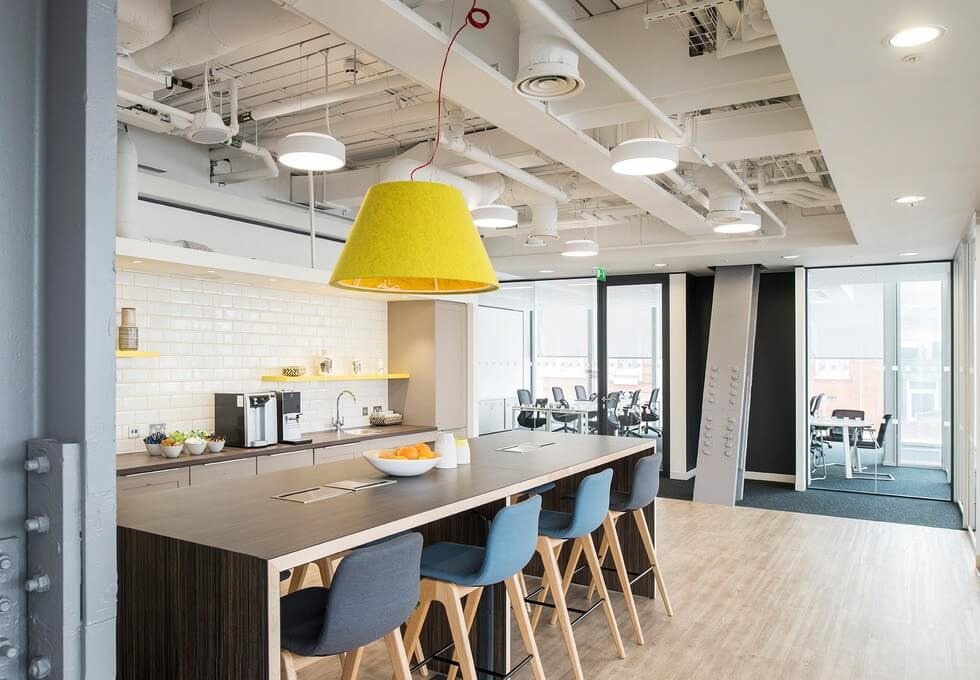 London Bridge Street SE1 office space – Kitchen