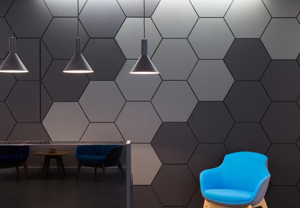 Farringdon Street EC1 office space – Reception