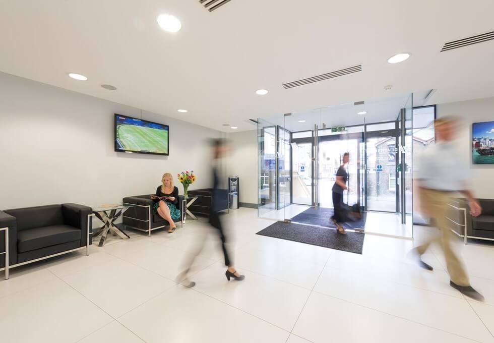 Cricketfield Road UB8 office space – Foyer