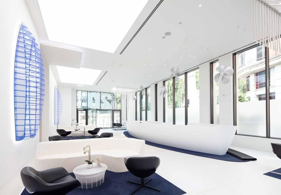 St Dunstans Hill EC4 office space – Reception