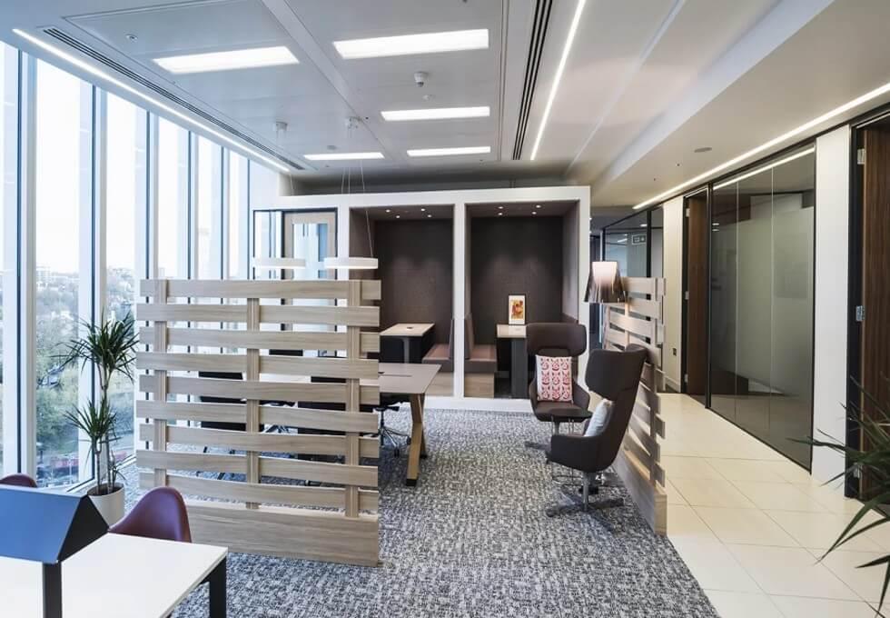 Kingdom Street W2 office space – Break Out Area