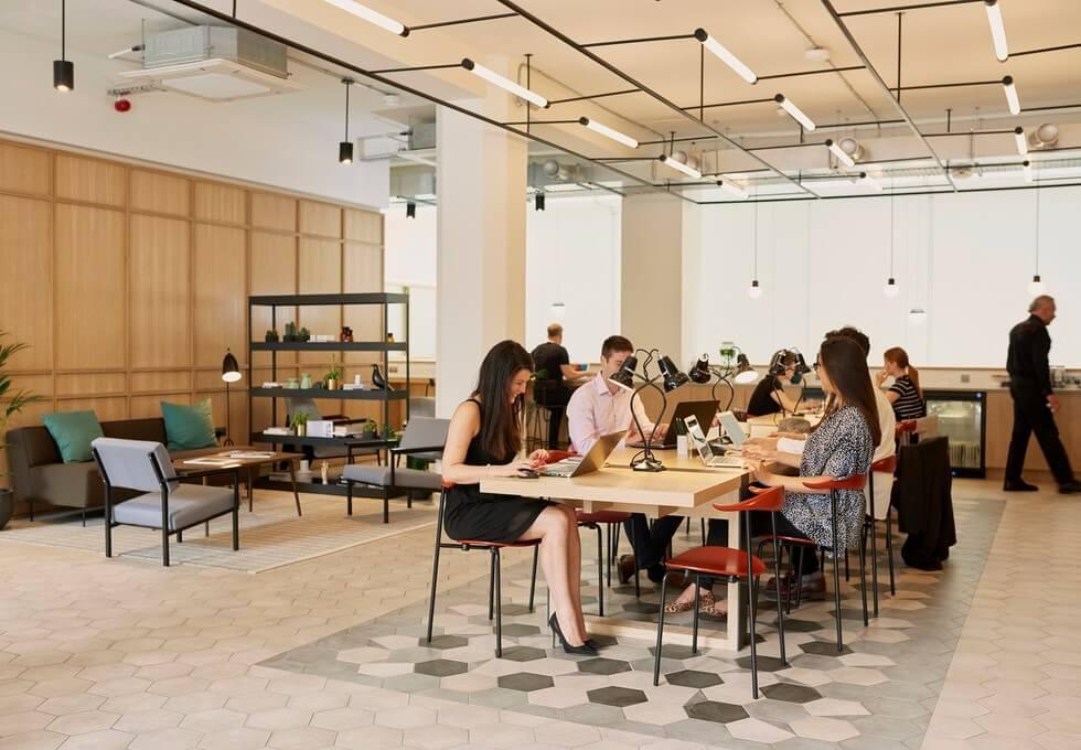 Great Portland Street W1 office space – Break Out Area