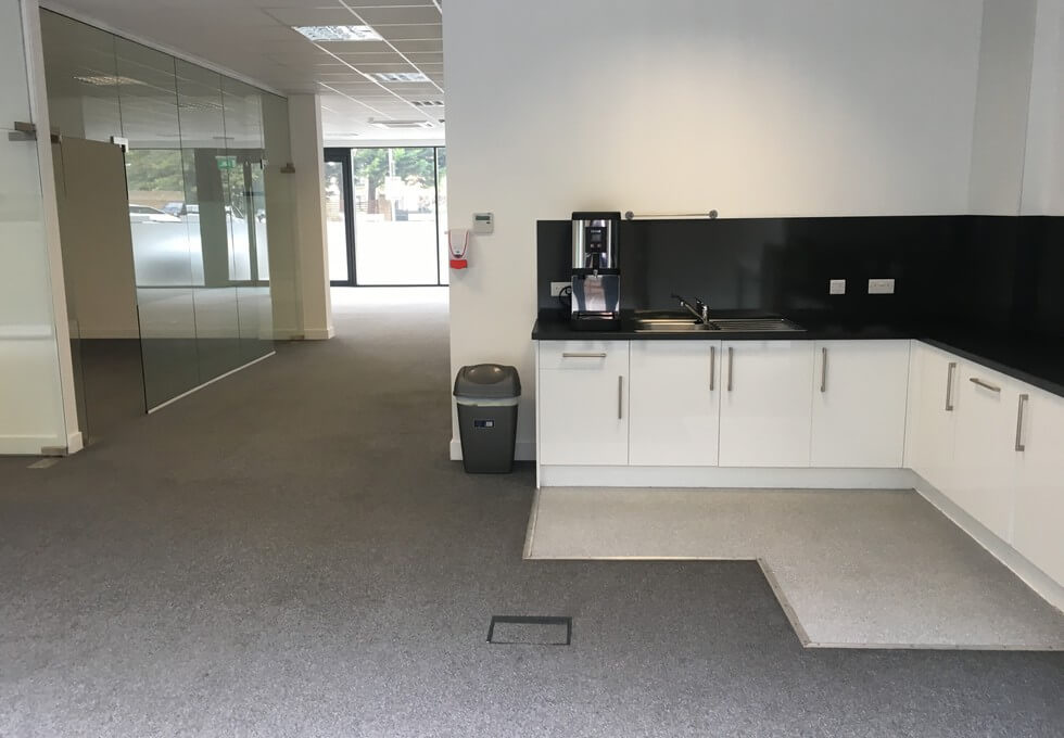 Plough Way SE16 office space – Kitchen