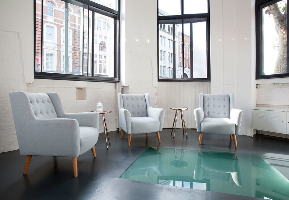 Shoreditch High Street EC1 office space – Reception