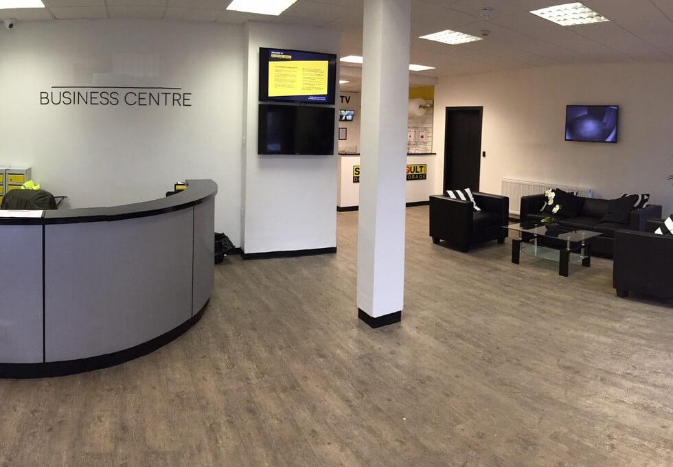 MacDowell Street PA1 - PA3 office space – Reception