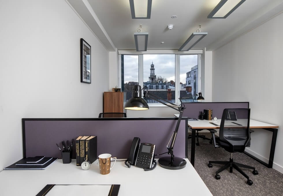 Eversholt Street NW1 office space – Private Office (different sizes available)