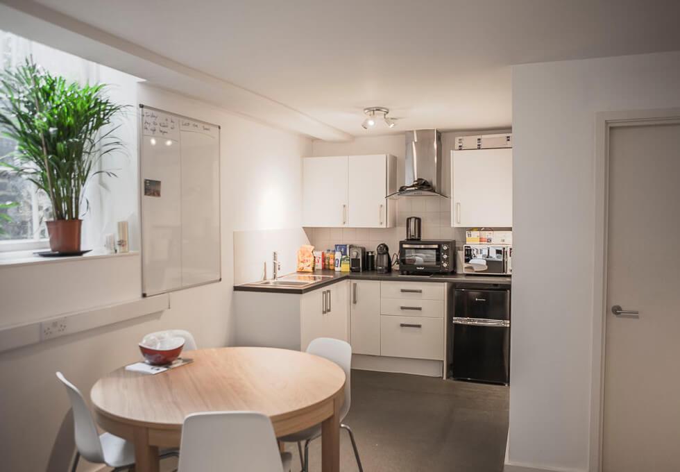 Winkley Street E2 office space – Kitchen