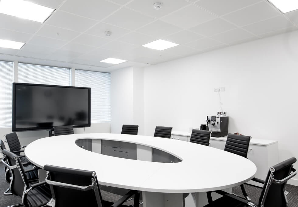 Marsh Wall E14 office space – Meeting/Boardroom