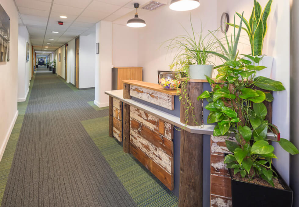 York Road SE1 office space – Reception