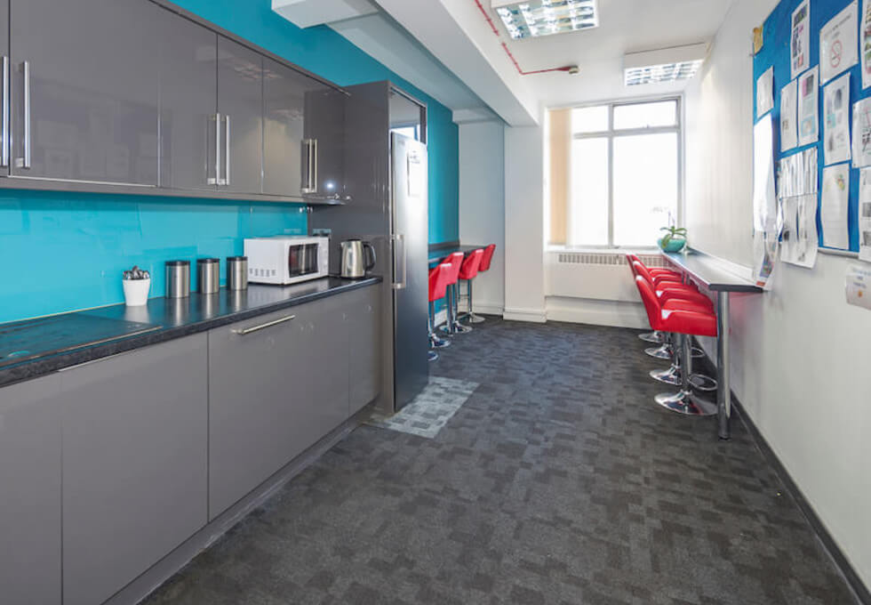 York Road SE1 office space – Kitchen