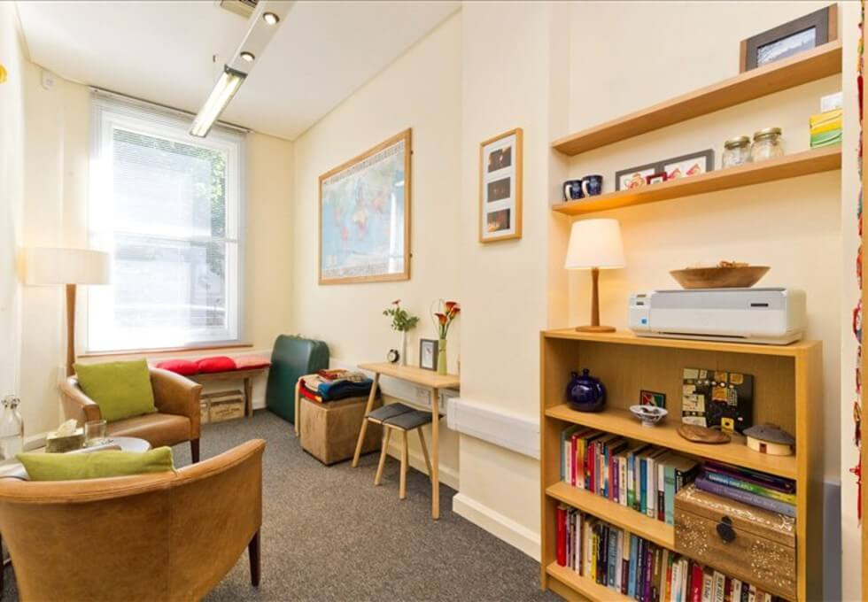 Gower Street WC1 office space – Break Out Area