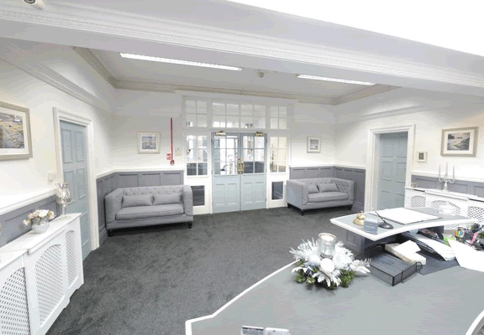 Clervaux Terrace NE1 office space – Reception