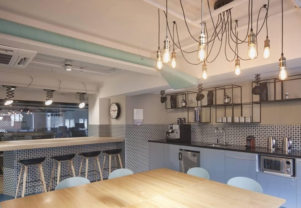 Ramillies Street W1 office space – Kitchen