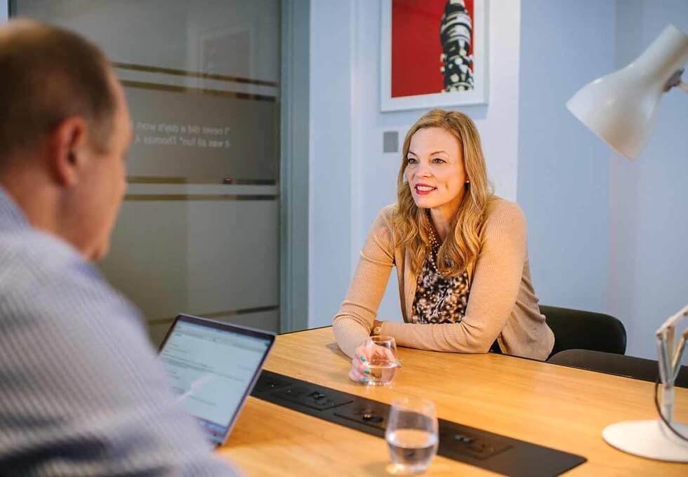 Bayley Street WC1 office space – Meeting/Boardroom