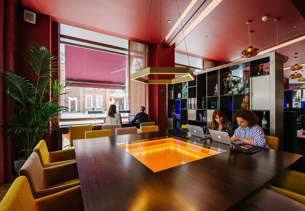 Clerkenwell Road EC1 office space – Break Out Area