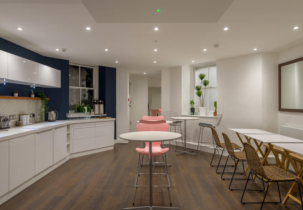 Soho Square W1 office space – Kitchen